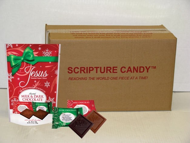 esus Sweetest Name I Know Christmas Assorted Chocolates Case