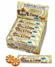 Butter and Cream Scripture Candy Rolls