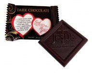God So Loved Me Christian Dark Chocolates