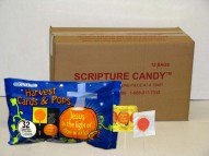 arvest  Halloween Lollipops and Cards Christian Candy Case