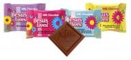 Jesus Lives Easter Chocolate Scripture Candy- Bulk