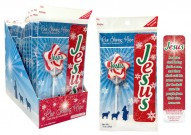 Jesus Our Shining Hope Star Candy Lollipops Bookmark Set