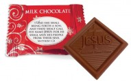 esus Sweetest Name I Know Christmas Milk Chocolates