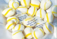 Old-Fashioned Soft Lemon Scripture Candy Bulk