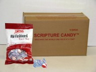 Old Fashioned Hard Peppermints Scripture Candy Case