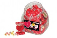Scripture Candy Conversation Hearts Jar
