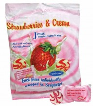 Strawberries & Cream Scripture Candy Bag