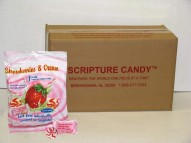Strawberries & Cream Scripture Candy Case