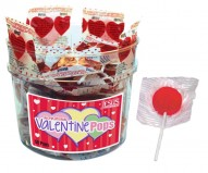 Valentine Scripture Candy Pops Jar