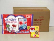 Valentine Lollipops Cards Case